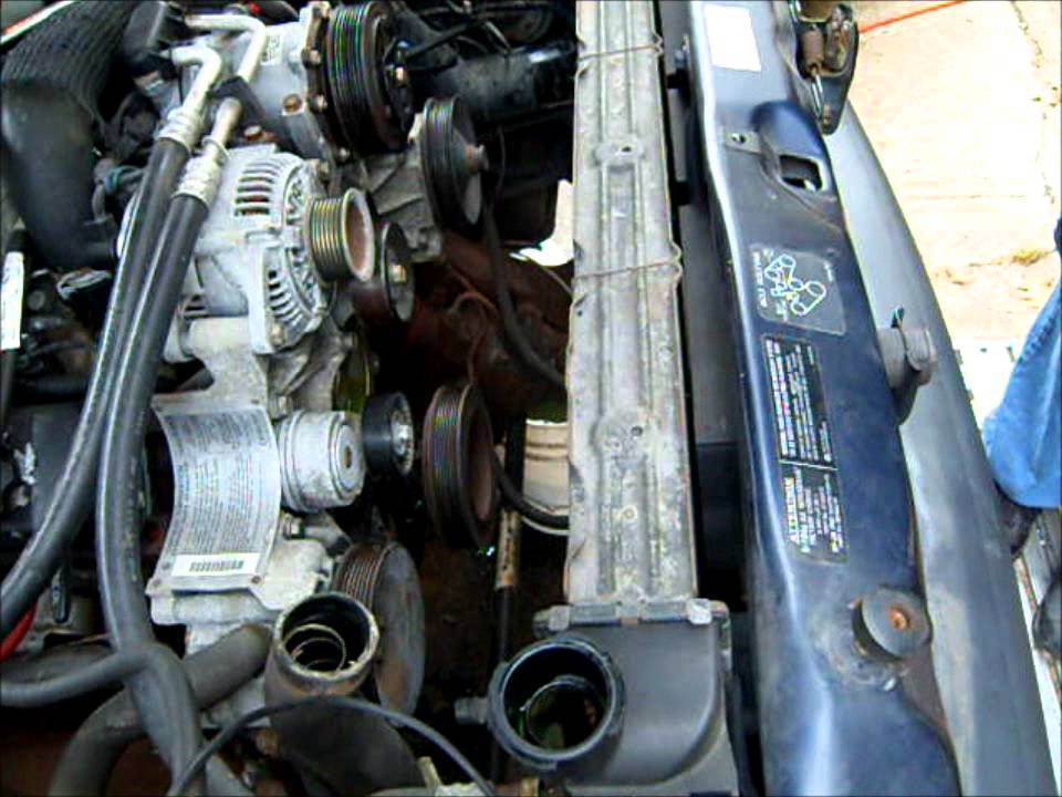Working On The Cooling System 1995 Dodge Ram V10