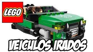 Lego Marvel Super Heroes - Vários Veículos irados