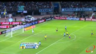 ARGENTINA 4 ECUADOR 0 FULL HD 02 06 2012 Eliminatorias