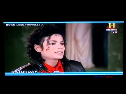 Michael Jackson - Bad 25 Premiere - History Channel India Commercial [भारत-India]