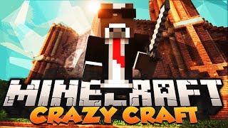 """Minecraft """"MOBZILLA BATTLE"""" - CRAZY CRAFT Modded Survival - Ep. 23 ( Minecraft Crazy Craft )"""