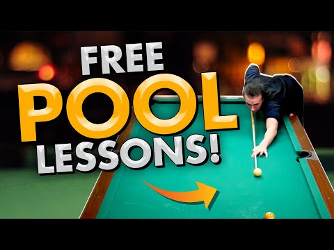 FREE POOL LESSONS! - Pool's Biggest Secrets Revealed 3 - Controlling the Cue Ball!