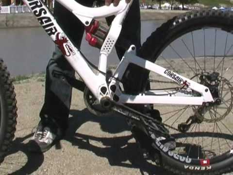 Corsair Bikes Konig slopestyle bike