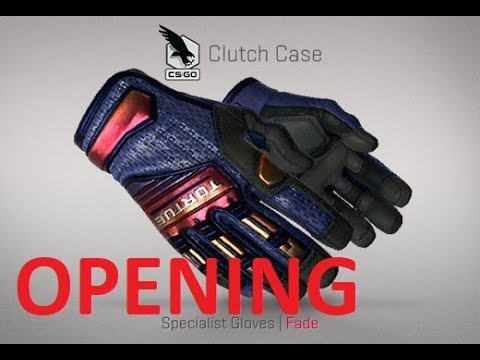 NEW Clutch Case opening unboxing CS:GO Counter Strike Global Offensive Skrzynia Clutch CSGO gloves