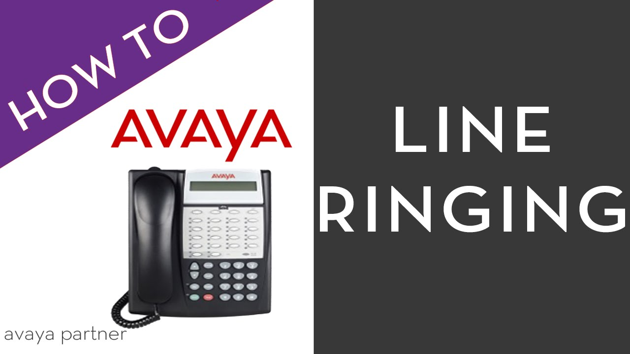 Avaya  Not Ringing