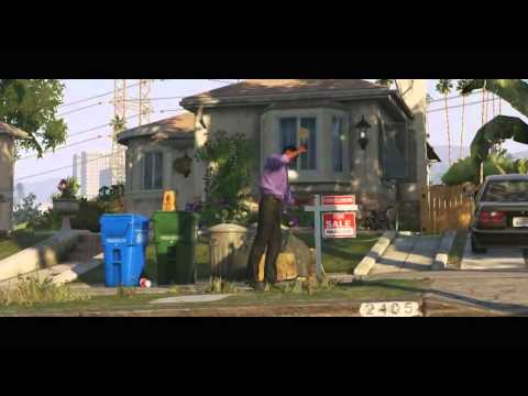 Grand Theft Auto V Trailer(Русская озвучка)