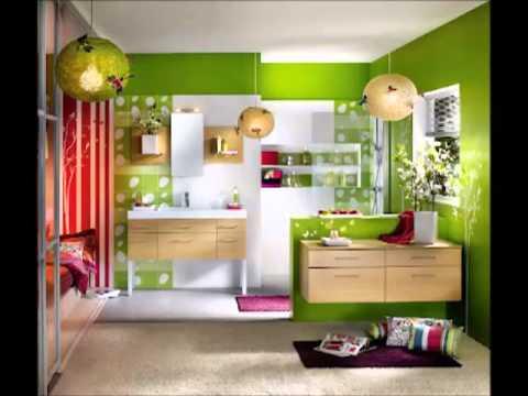 Desain Interior Rumah Minimalis Warna Hijau
