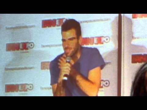 Zachary Quinto talks Benedict Cumberbatch @ Fan Expo Canada Q&A 8/24/13