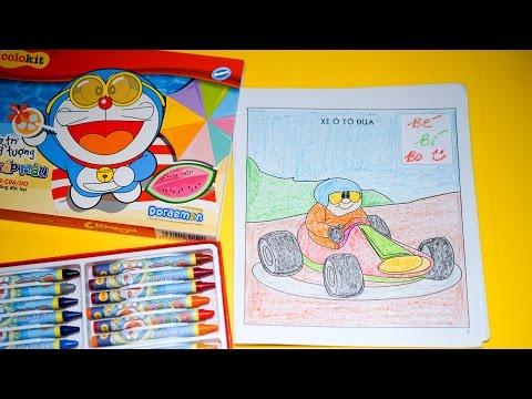 Bé tập tô màu - Cùng bé tô màu chiếc xe đua siêu tốc độ - Tập 6
