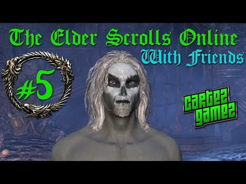 The Elder Scrolls Online Beta Gameplay - Part 5 (Dark Elf, Sorcerer and Ebonheart Pact)