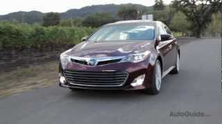 2013 Toyota Avalon Review - Next-gen product in search of next-gen customers videos
