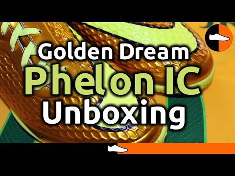 Neymar Golden Dream Hypervenom Phelon IC Unboxing - FootballBoots.co.uk