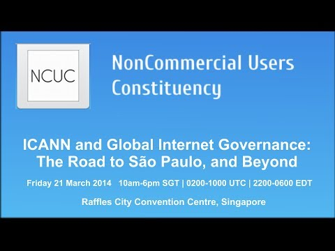 ICANN and Global Internet Governance: The Road to São Paulo, and Beyond