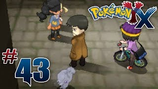 Let's Play Pokemon: X Part 43 In The Back Alleys
