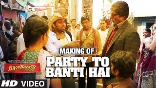 Song Making: Party Toh Banti Hai | Bhoothnath Returns | Amitabh Bachchan| Meet Bros Anjjan | Mika