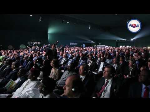 كلمة أخنوش و الرئيس الغيني خلال المناظرة الوطنية للفلاحة