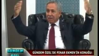 BÜLENT ARINÇ BEN SİYASETİ DEĞİL SİYASET BENİ BIRAKIYOR