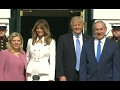 Trump Welcomes Netanyahu to White House | ABC News