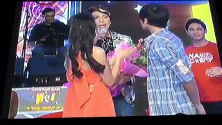 Daniel And Kathryn =) @Ganda Gabi Vice