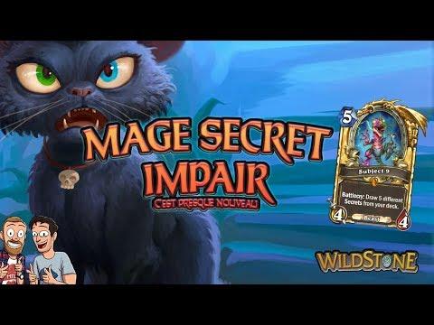 LE MAGE SECRET IMPAIR : LE DECK INCROYABLE ! [Wild] [Fr] [Hearthstone]