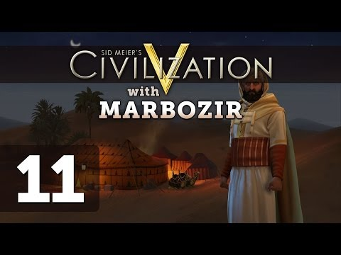 Civilization 5 Brave New World Deity Morocco Let's Play - Part 11
