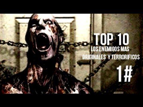 Top 10 - Enemigos mas escalofriantes y originales de los videojuegos. Parte 1-loquendo
