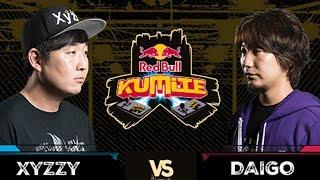 Red Bull Kumite 2017: XYZZY vs Daigo | Top 16