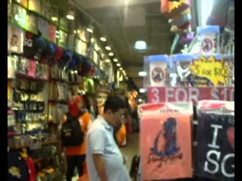 Singapore shopping at Bugis Street