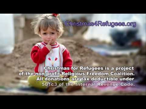 Christian Refugee Children Fleeing Syrian Jihadists