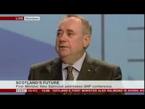 Scotlands future Alex Salmond