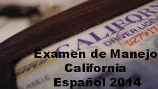 Examen De Manejo En California (Preguntas Y Respuestas)En