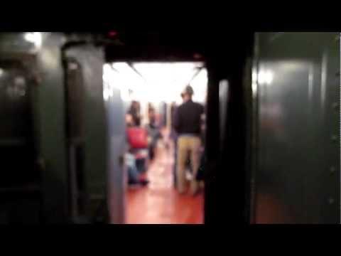 NYC Subway Nostalgia Train Inter-Car Movement At the Conductors Position
