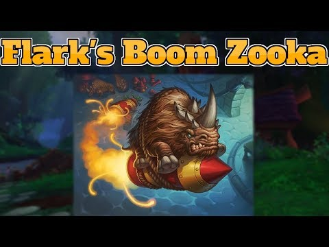 [Legend] Flark's Boom Zooka Hunter The Boomsday Project | Hearthstone Guide How To Play