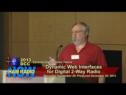 HamRadioNow Episode 112: From the DCC - Dynamic Web Interfaces