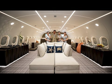 Inside The Worlds Only Private Boeing 787 Dreamliner