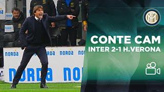 CONTE CAM | INTER 2-1 HELLAS VERONA 📹⚫🔵??