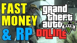 GTA 5 Online FAST MONEY AND RP! (Violent Duct Mission