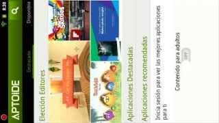Como Bajar Apps Gratis Android En La Tablet A1 Ideapad