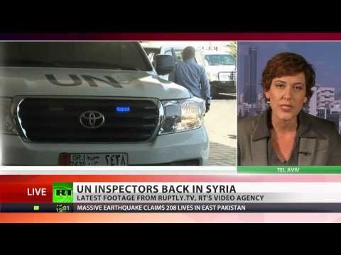 UN inspectors back in Syria after 'one-sided' nerve gas finding