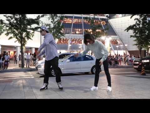 Nhảy hip hop đường phố ở Seoul   Korea