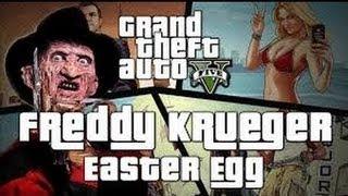 GTA 5: EASTER EGG- FREDDY KRUEGER O EL ASESINO DE LA MADRE