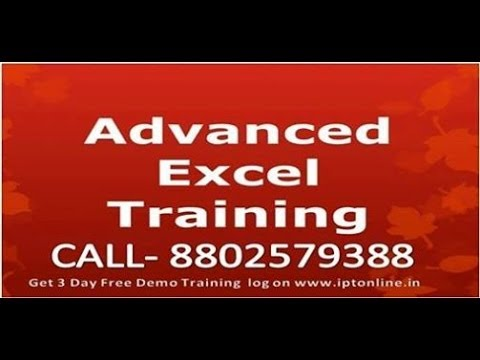 Advanced Excel VBA Training with Sujeet Kumar in Hindi(Excel VBA Data Types Filter)