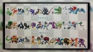 X And Y All Mega-Evolutions Leaked? Pokemon X And Y
