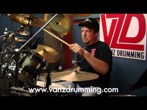 Drum Lesson - Practicing 101 - Vanz Drumming - Randy Van Patten