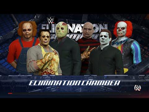 Freddy Vs Jason Vs Chucky Vs Michael Myers Vs Pinhead Leatherface Vs Jason V...