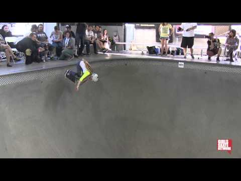 Brittney Conrad - Vans Girls Combi Pool Classic 2013