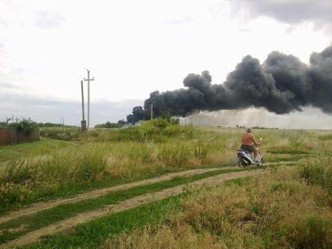 Украина.Торез 17.07 Террористы ДНР сбили Боинг-777 авиакомпании