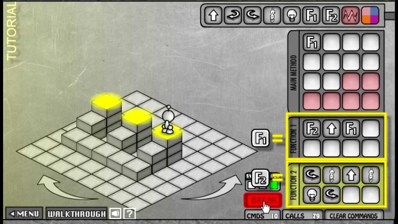 Lightbot 2 0 walkthrough guide youtube click for details lightbot 2 0