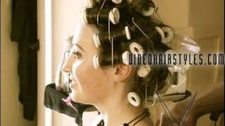 How To Set Hot Rollers For A Sexy Hairstyle