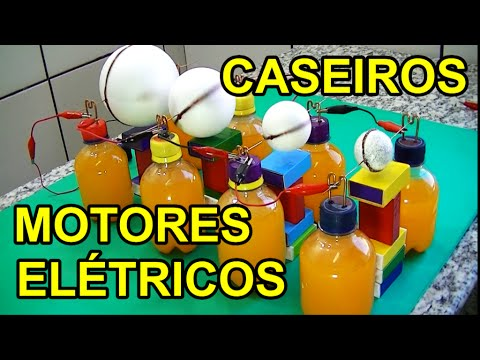 COMO FAZER MOTORES ELÉTRICOS COM BOLAS DE ISOPOR